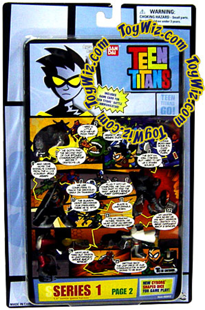 Teen Titans Go! Series 1 Comic Book Heroes Page 2 1.5-Inch Mini Figure