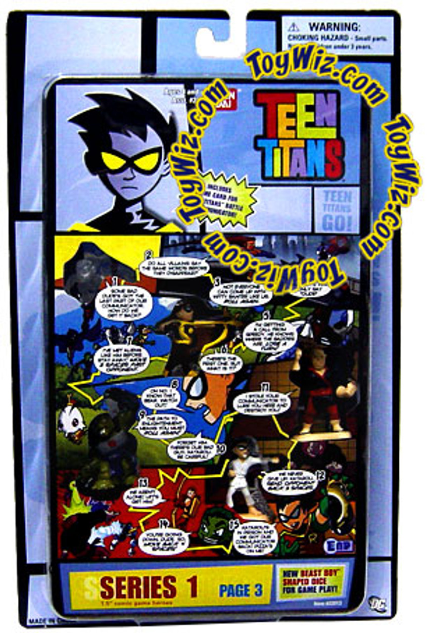 Teen Titans Go! Series 1 Comic Book Heroes Page 3 Mini Figure