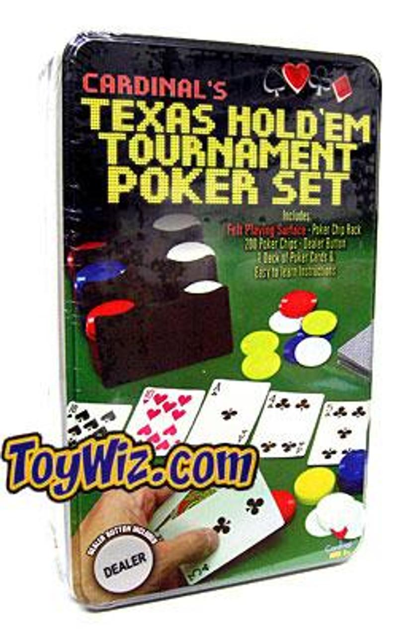 Poker Texas Hold'em Tournament Poker Set