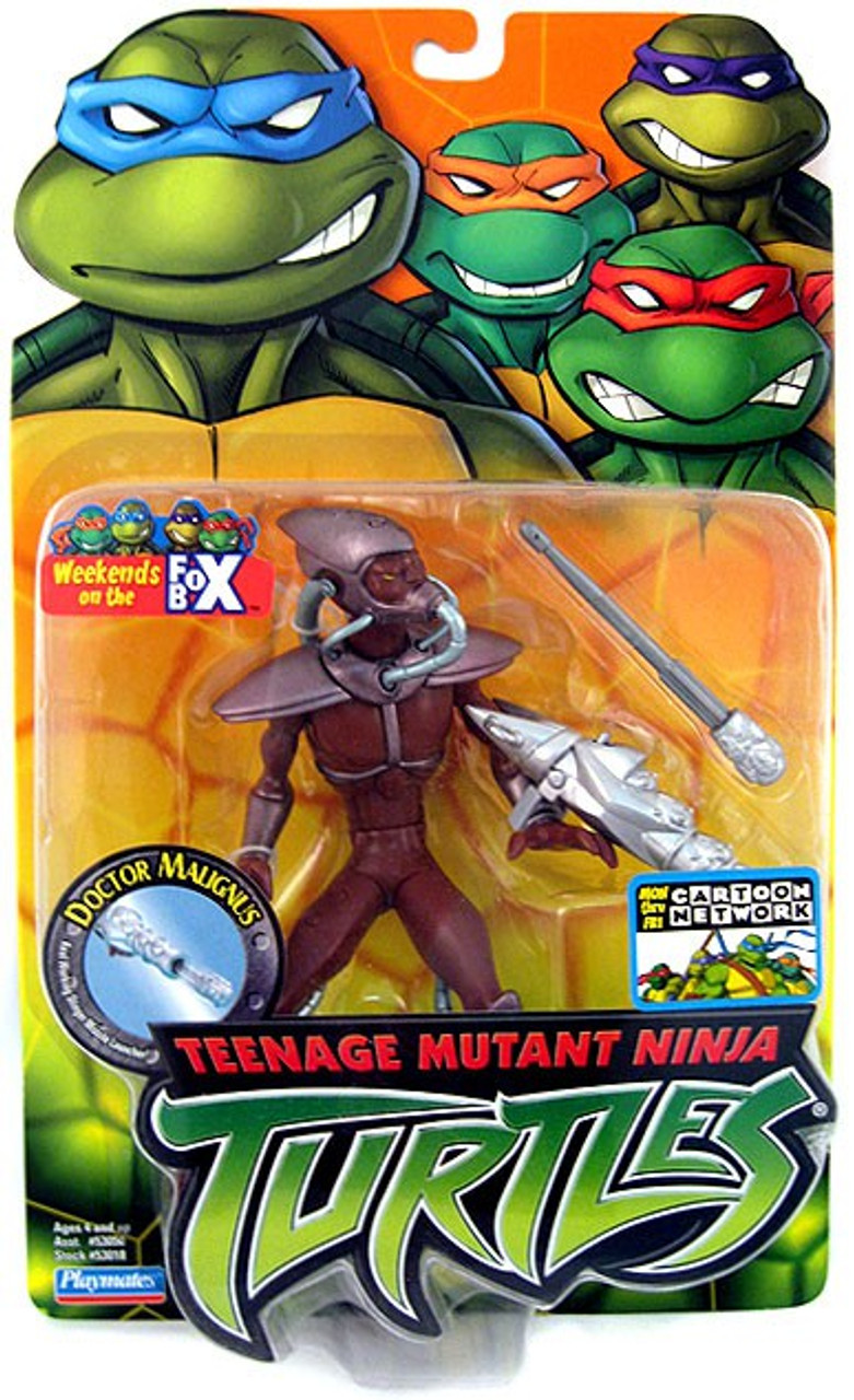 Teenage Mutant Ninja Turtles 2003 Toys : Teenage mutant ninja turtles doctor malignus action