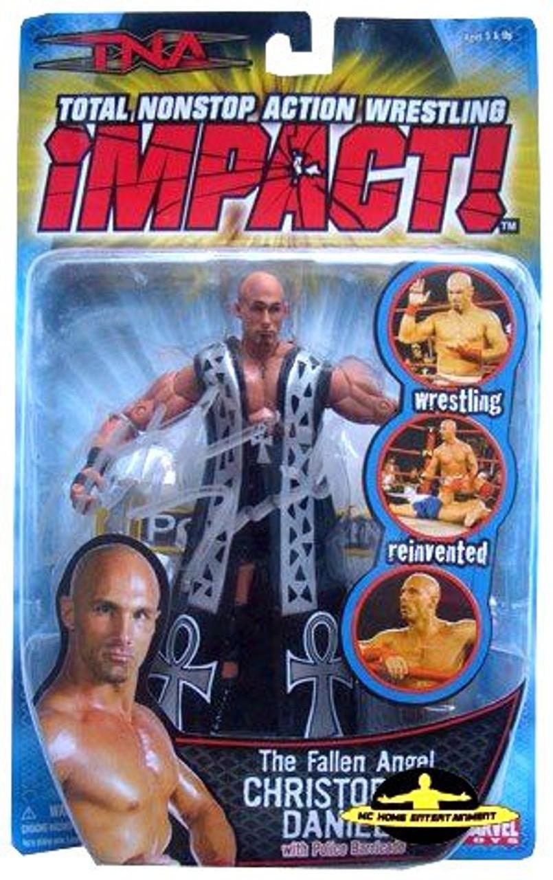 TNA Wrestling Impact Series 2 The Fallen Angel Christopher Daniels Action Figure