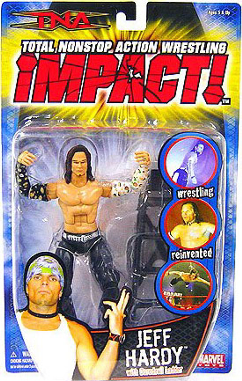TNA Wrestling Impact Series 2 Jeff Hardy Action Figure