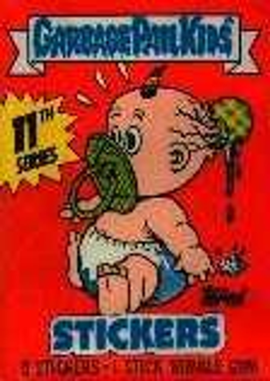 Garbage Pail Kids Series 11 Trading Card Sticker Pack