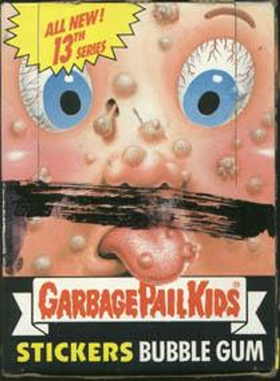 Garbage Pail Kids Series 13 Trading Card Sticker Box
