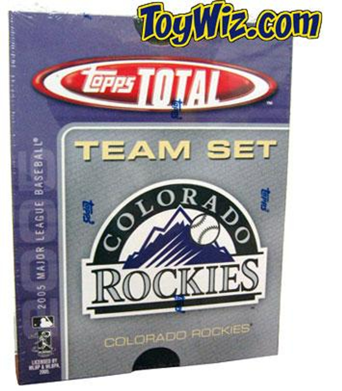 MLB 2005 Topps Total Baseball Cards Colorado Rockies Team Set