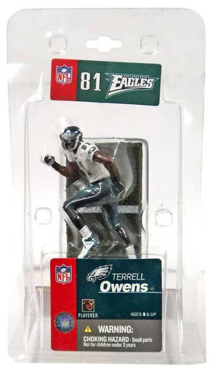 McFarlane Toys NFL Philadelphia Eagles Sports Picks 3 Inch Mini Terrell Owens Mini Figure