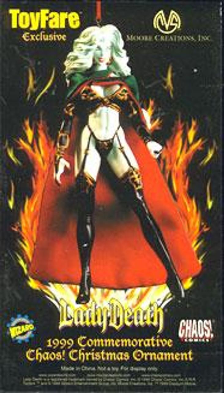 Chaos Comics Lady Death Exclusive Ornament [1999 Commemorative Edition]
