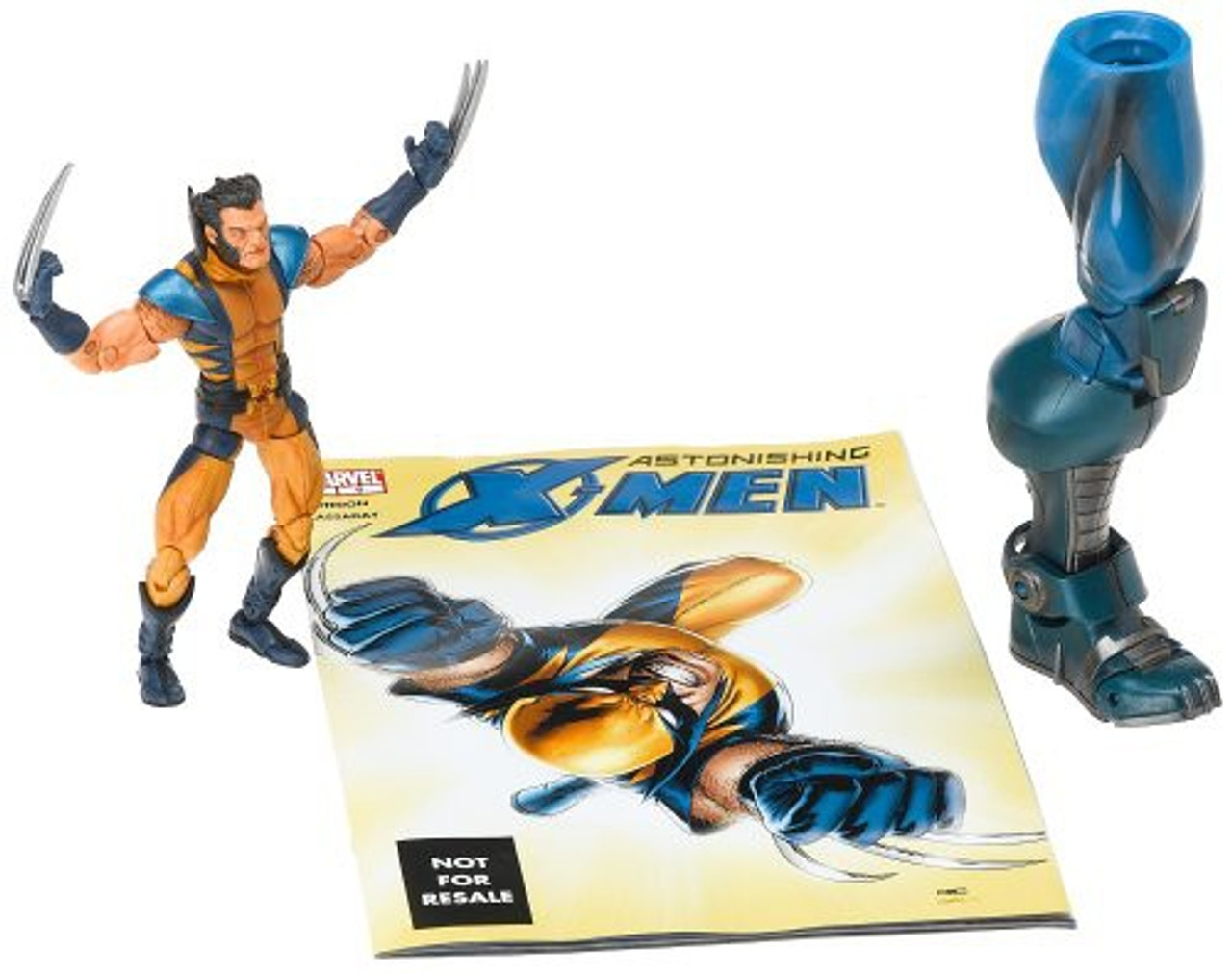 Marvel Legends Series 12 Apocalypse Astonishing X-Men Wolverine Action Figure [Unmasked Variant]