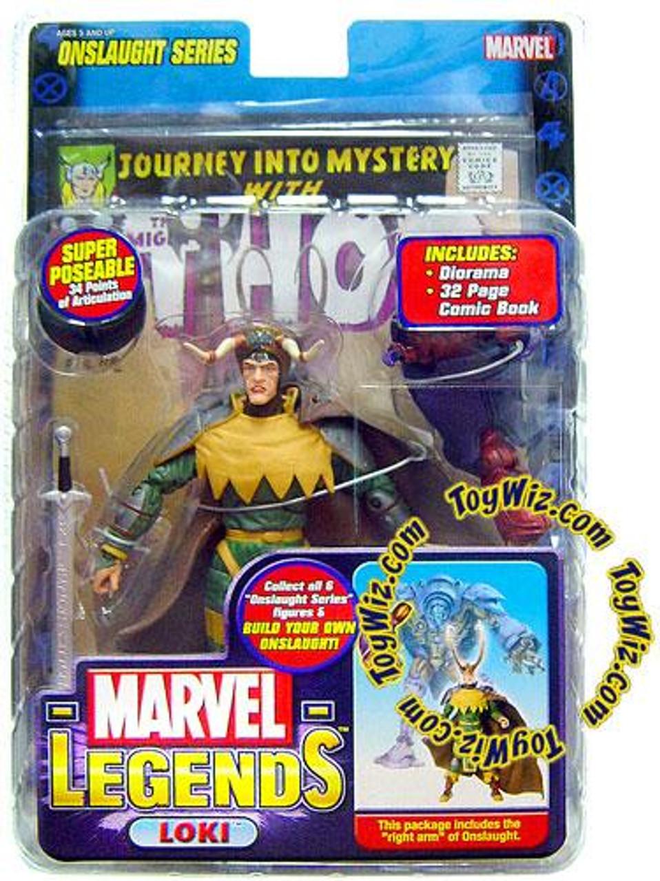 Marvel Legends Series 13 Onslaught Loki Action Figure [Crown of Lies Variant]