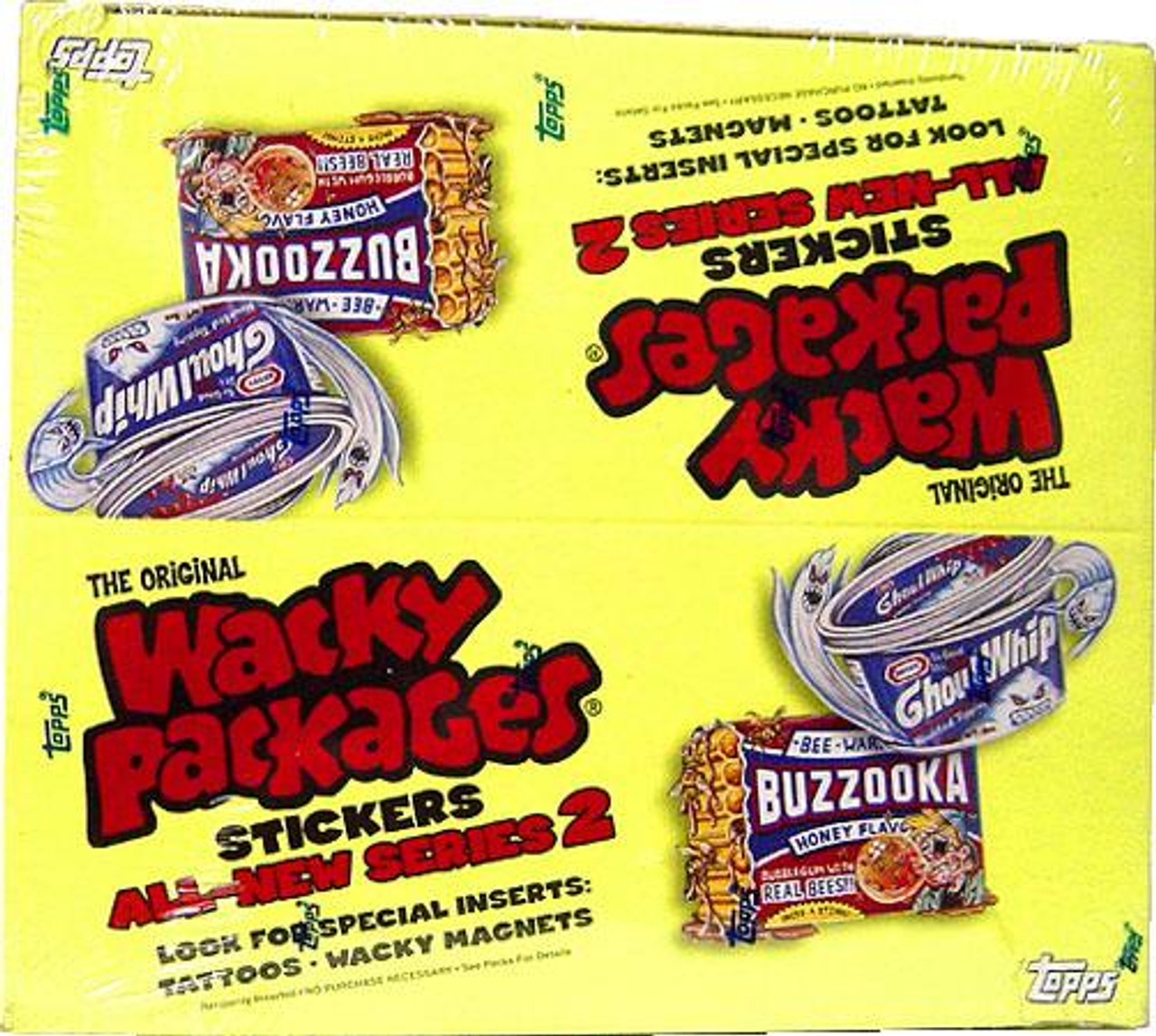 Wacky Packages All-New Series 2 Trading Card Box