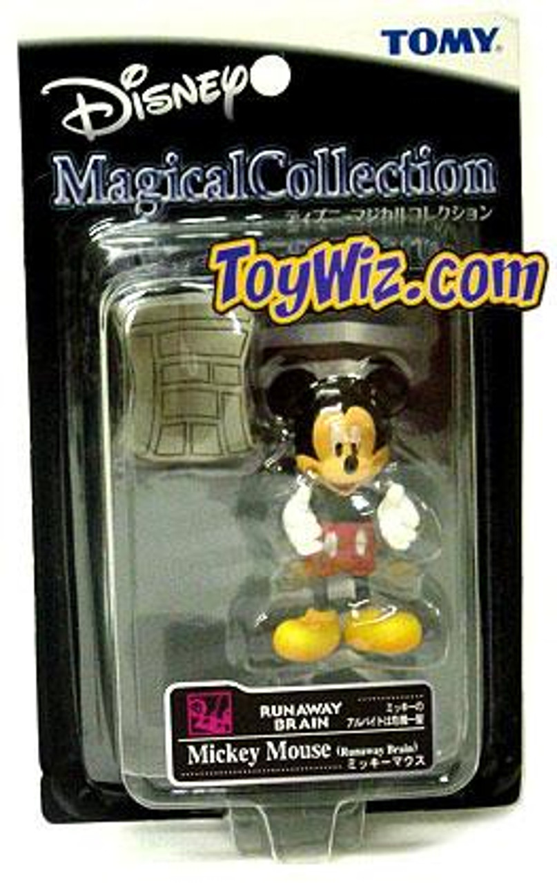 Disney Magical Collection Mickey Mouse 4-Inch Figure #033 [Runaway Brain]