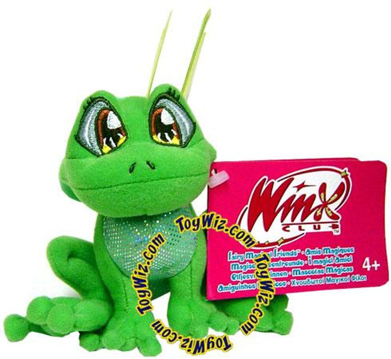 Winx Club Magical Fairy Friend Frog Plush