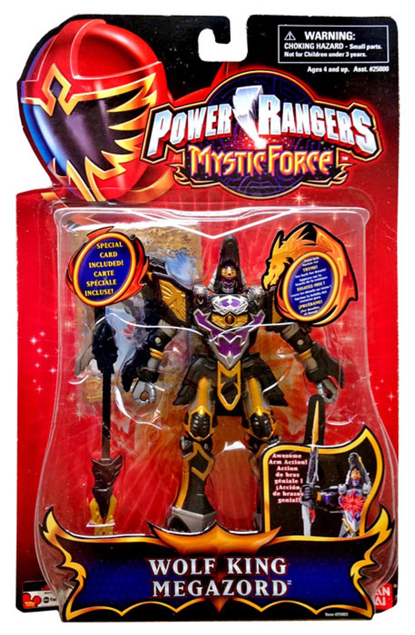 Power Rangers Mystic Force Wolf King Megazord Action Figure