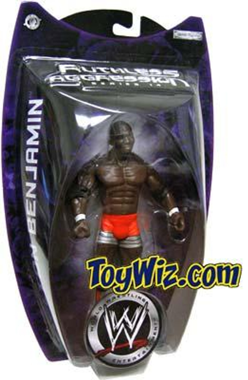 WWE Wrestling Ruthless Aggression Series 14 Shelton Benjamin Action Figure