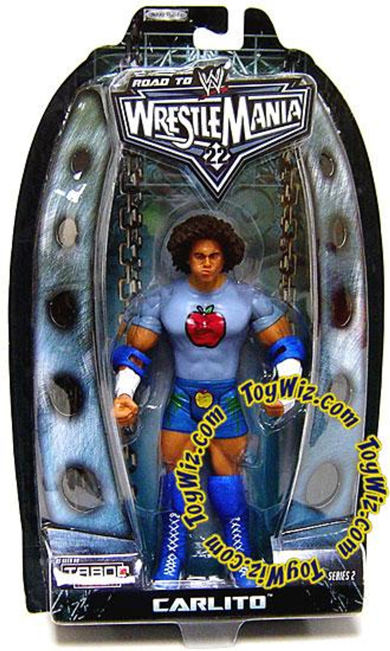 WWE Wrestling Road to WrestleMania 22 Series 2 Carlito Action Figure