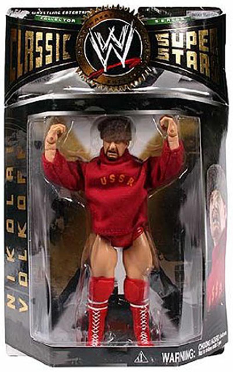 WWE Wrestling Classic Superstars Series 5 Nikolai Volkoff Action Figure