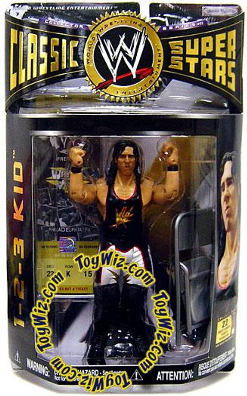 WWE Wrestling Classic Superstars Series 11 1-2-3 Kid Action Figure