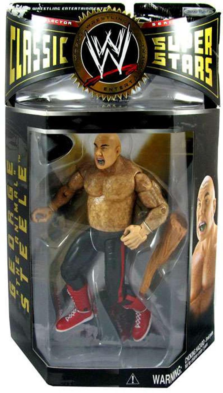"WWE Wrestling Classic Superstars Series 2 George ""The Animal"" Steele Action Figure [Painted Hair]"