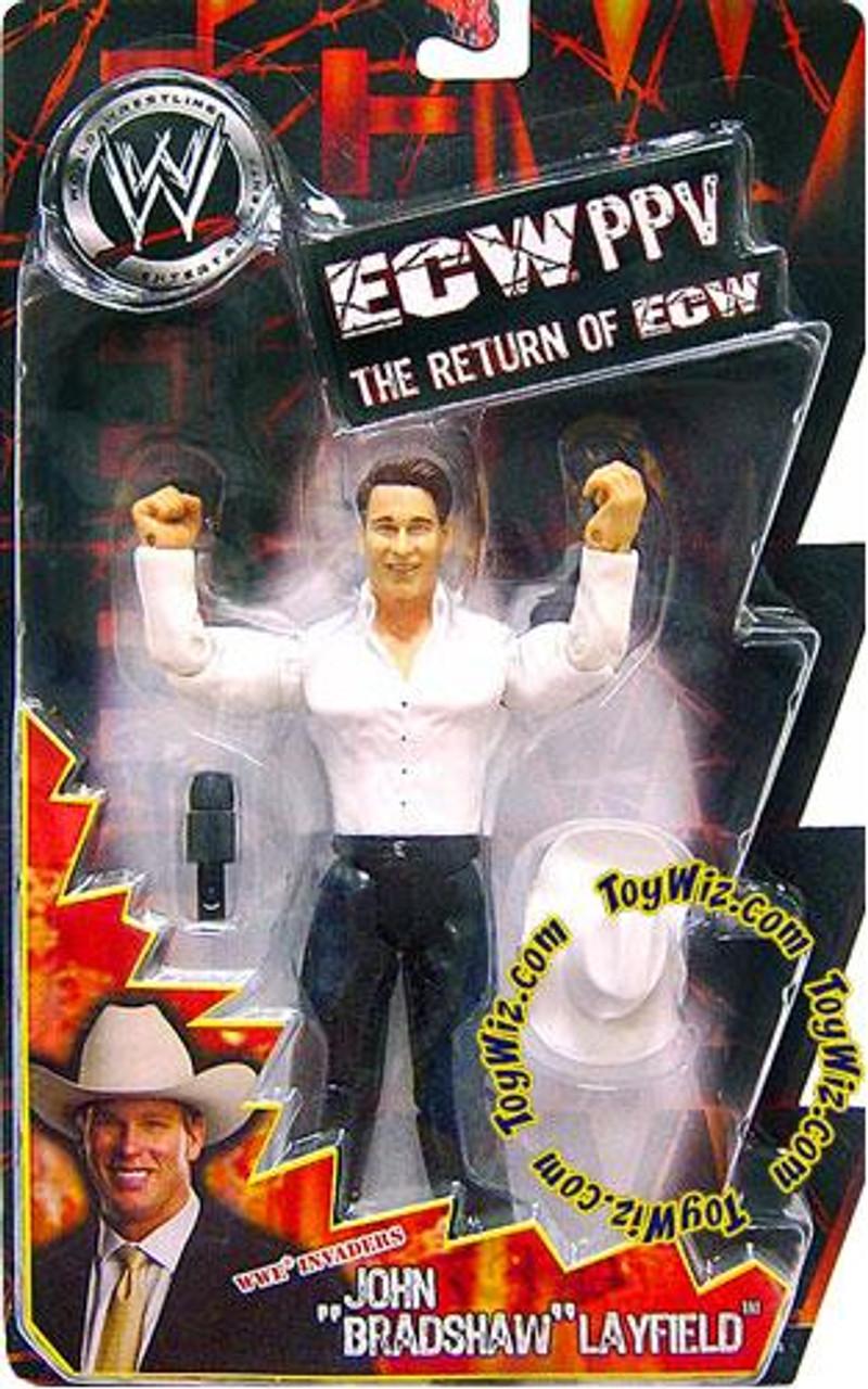 WWE Wrestling ECW PPV Series 9 JBL Action Figure