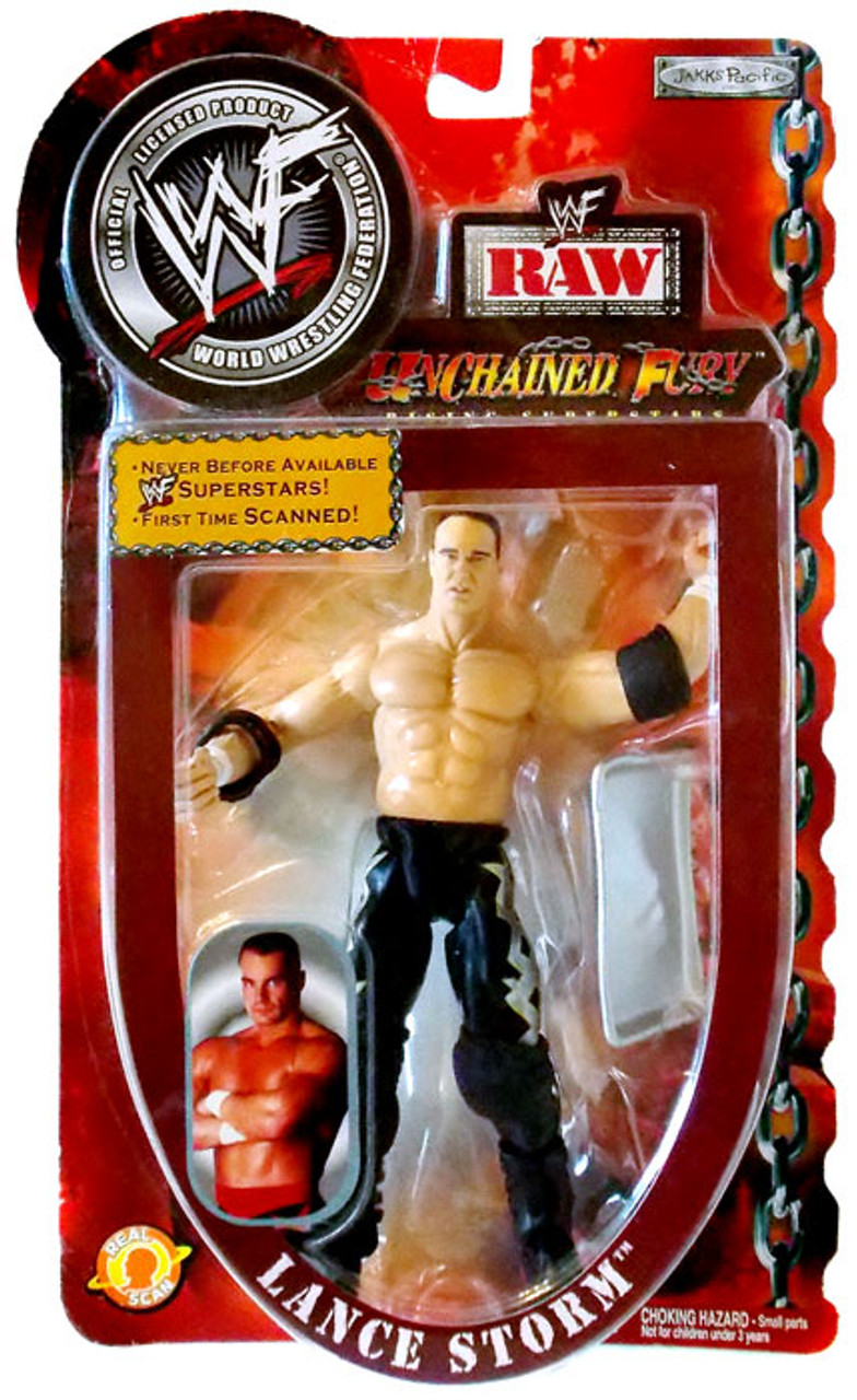 WWE Wrestling Unchained Fury Lance Storm Action Figure [WWF Raw]