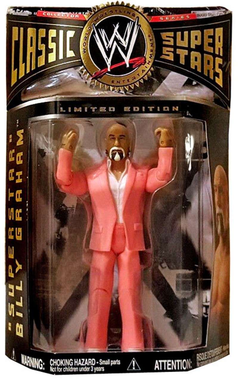 WWE Wrestling Classic Superstars Superstar Billy Graham Exclusive Action Figure [Pink Suit]