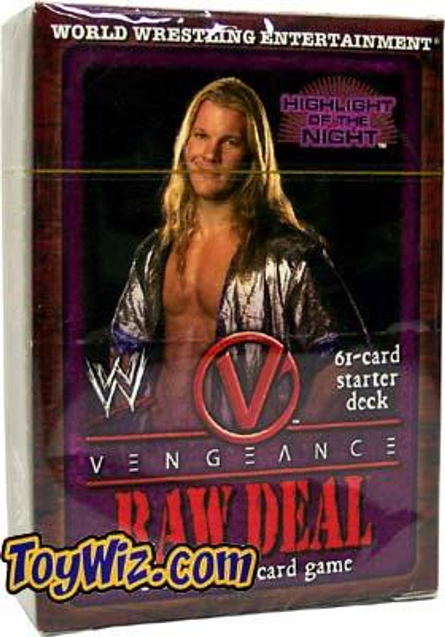 WWE Wrestling Raw Deal Trading Card Game Vengeance Highlight of the Night Starter Deck