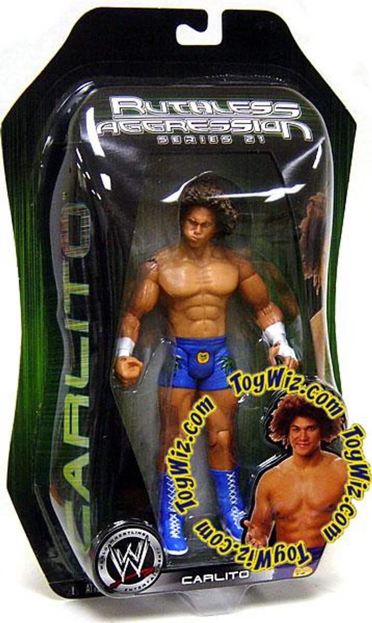 WWE Wrestling Ruthless Aggression Series 21 Carlito Action Figure