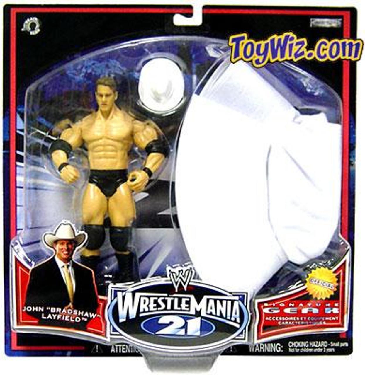 WWE Wrestling WrestleMania 21 Series 2 JBL Exclusive Action Figure