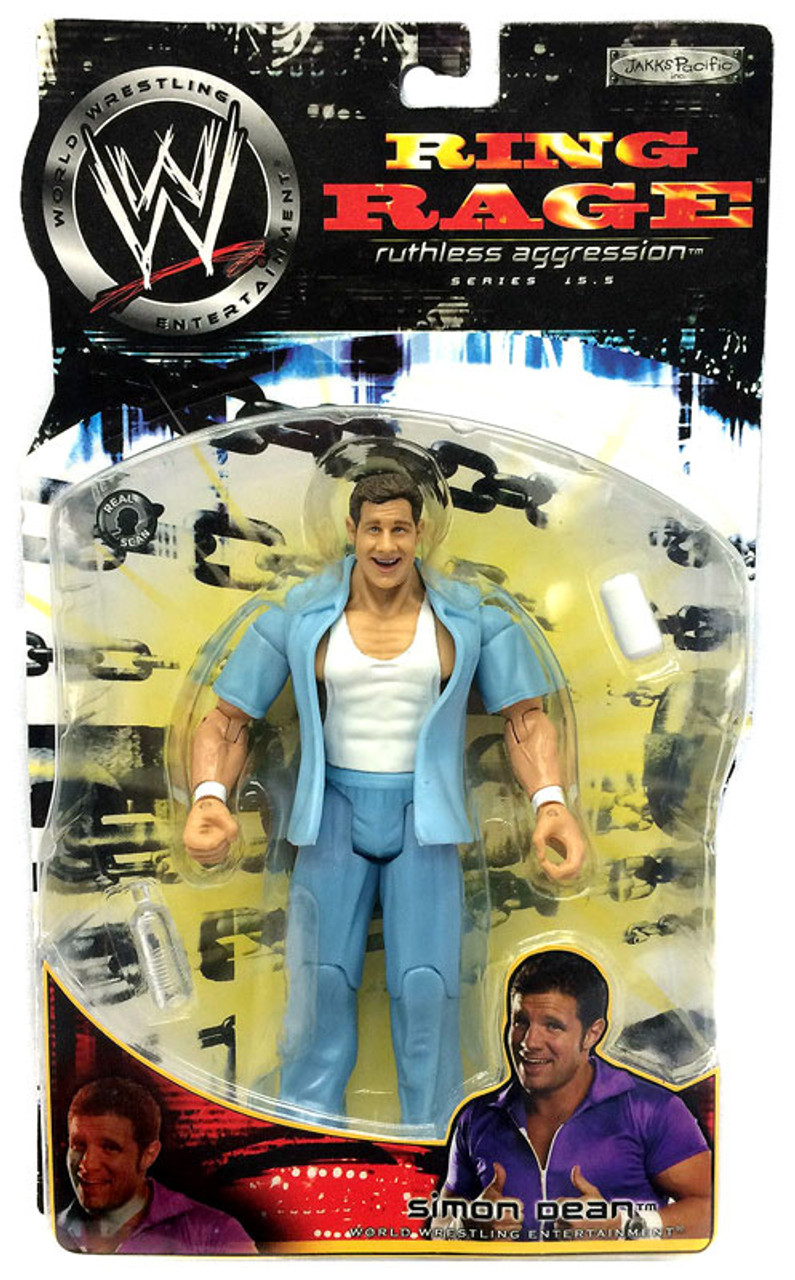 WWE Wrestling Ruthless Aggression Series 15.5 Ring Rage Simon Dean Action Figure