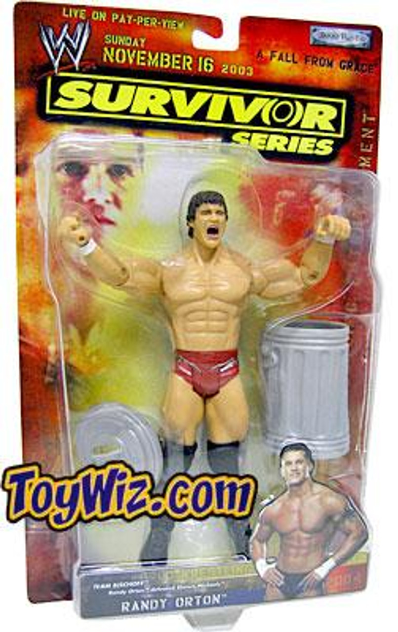 WWE Wrestling Survivor Series 2003 Randy Orton Action Figure