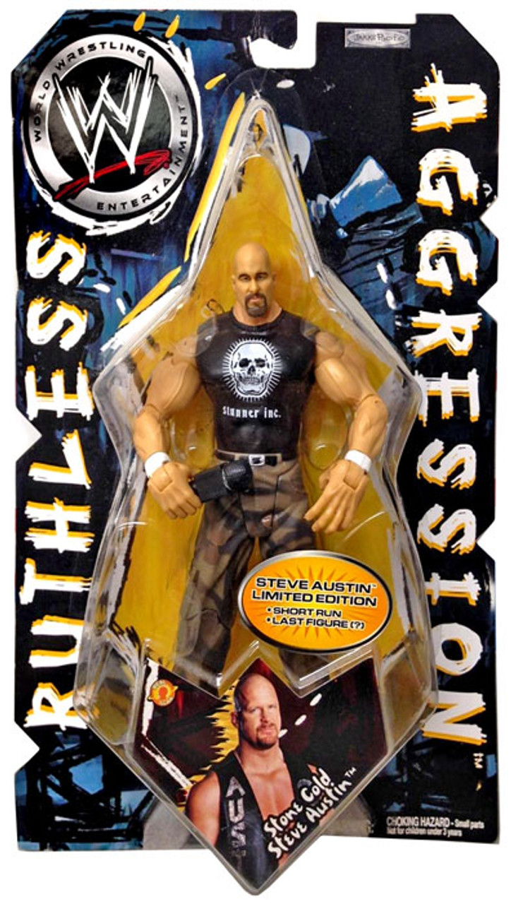 WWE Wrestling Ruthless Aggression Series 9 Steve Austin Action Figure