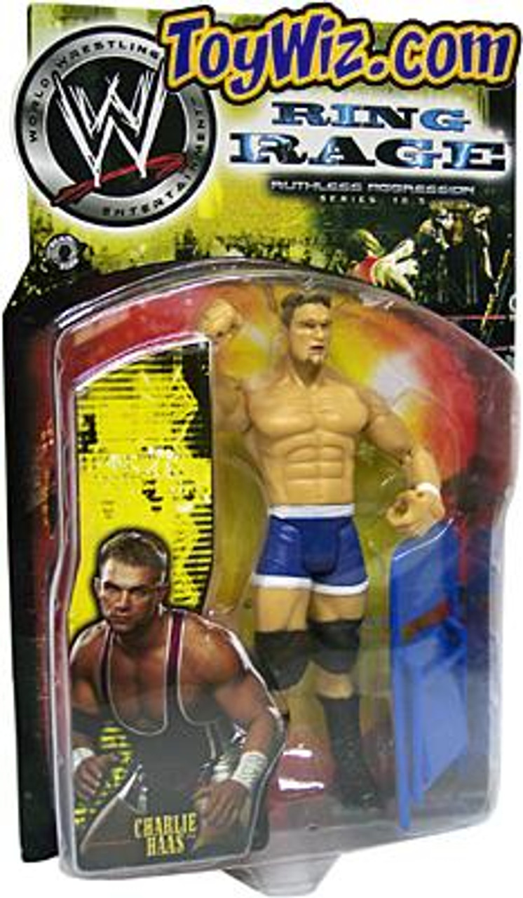 WWE Wrestling Ruthless Aggression Series 10.5 Ring Rage Charlie Haas Action Figure