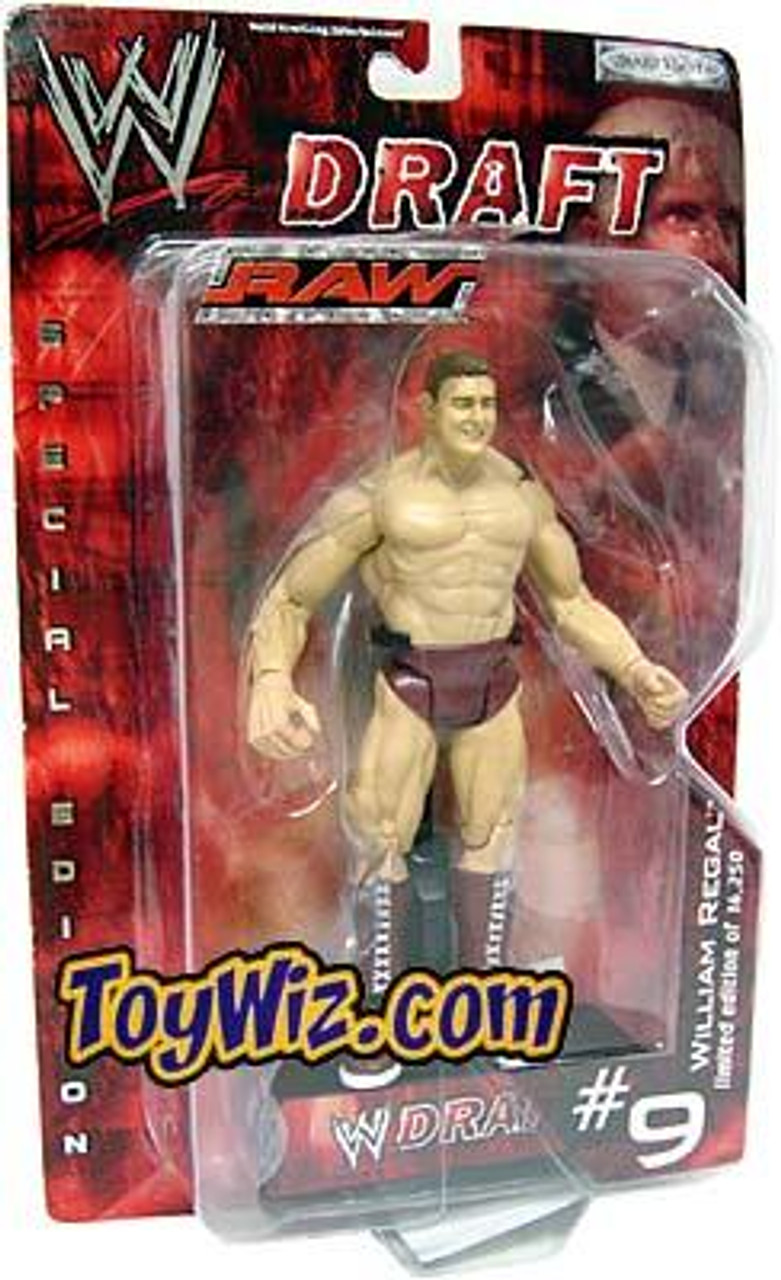 WWE Wrestling Raw Draft William Regal Action Figure #9