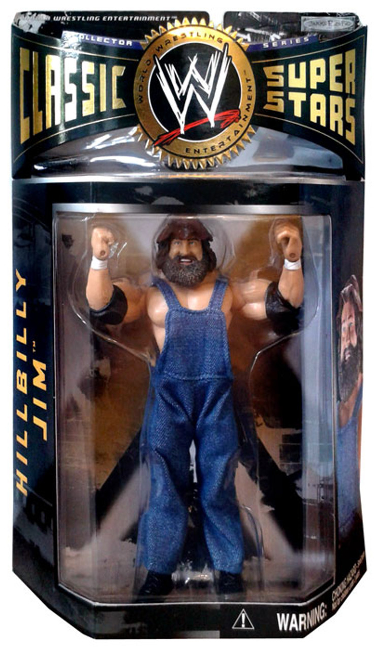 WWE Wrestling Classic Superstars Series 4 Hillbilly Jim Action Figure
