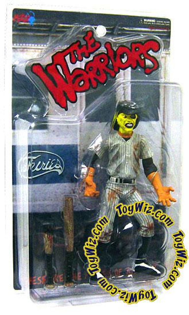 The Warriors Yellow Faced Baseball Fury Action Figure [Dirty Version]