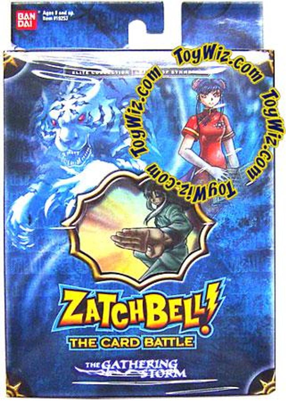 Zatch Bell Card Battle Game Gathering Storm League of Symmetry Theme Deck [Blue Box]