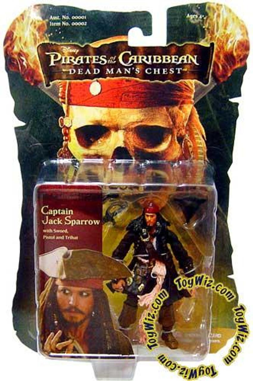 Pirates of the Caribbean Dead Man's Chest Captain Jack Sparrow Action Figure