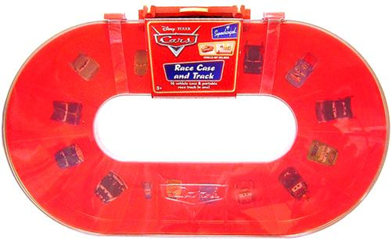 Disney Cars Supercharged Race Case and Track Cary Case