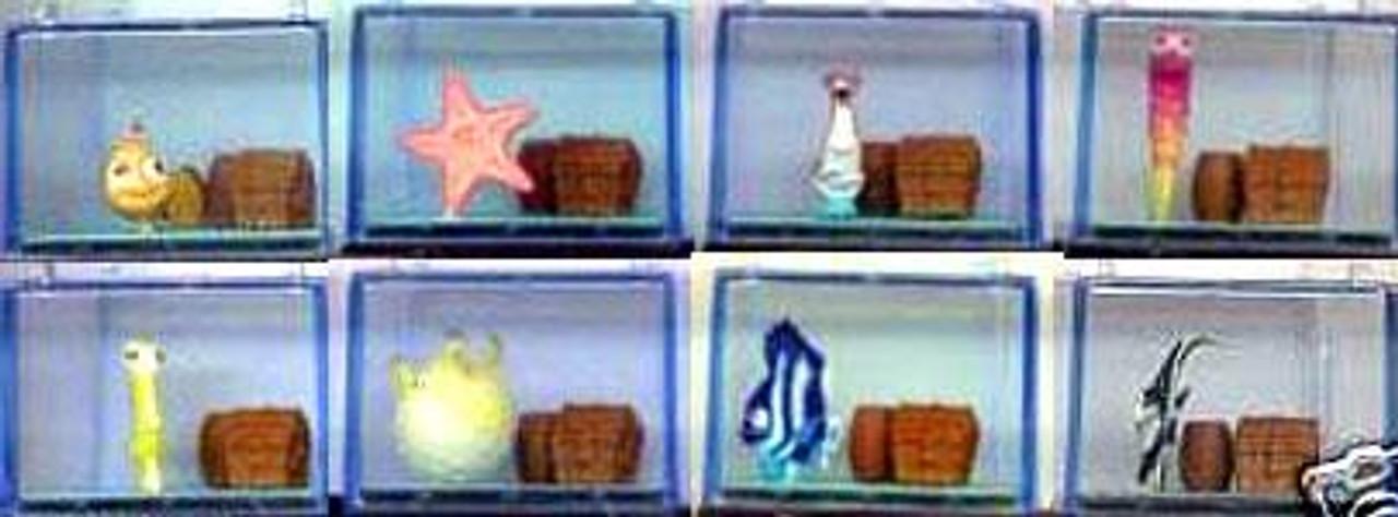 Disney / Pixar Finding Nemo Set of 8 Miniature PVC FIgures