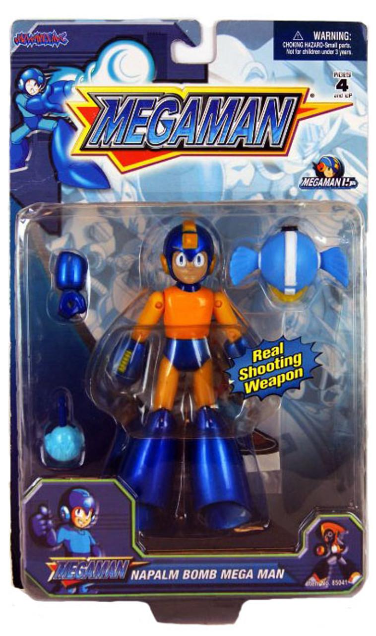 Mega Man Action Figure [Napalm Bomb]