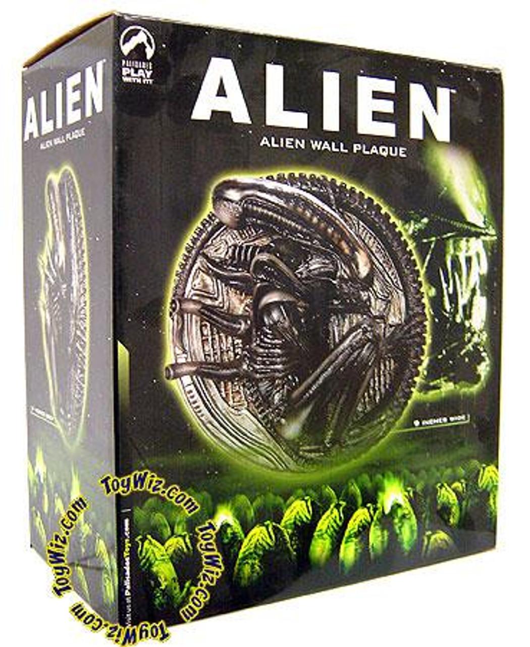 Alien Wall Plaque