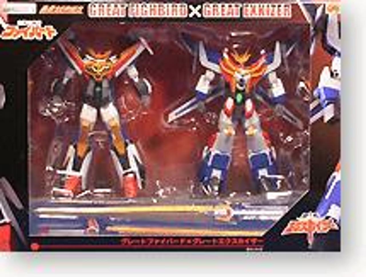 Gao Gai Gar Great Fighbird & Great Exkizer Action Figure 2-Pack