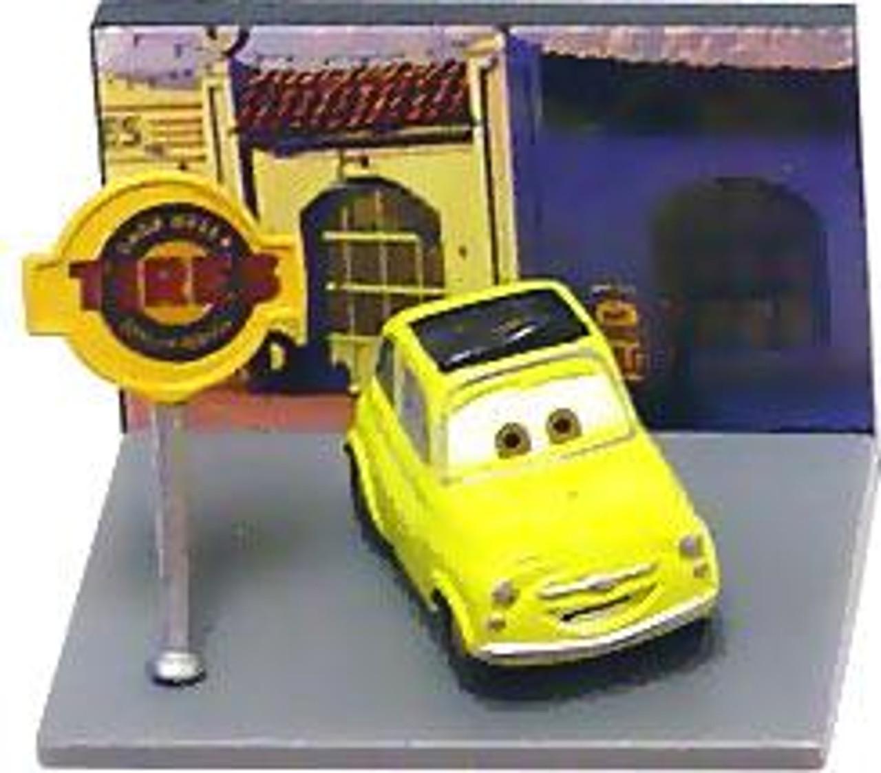 Disney Cars Gacha Micro Figures Luigi PVC Figure