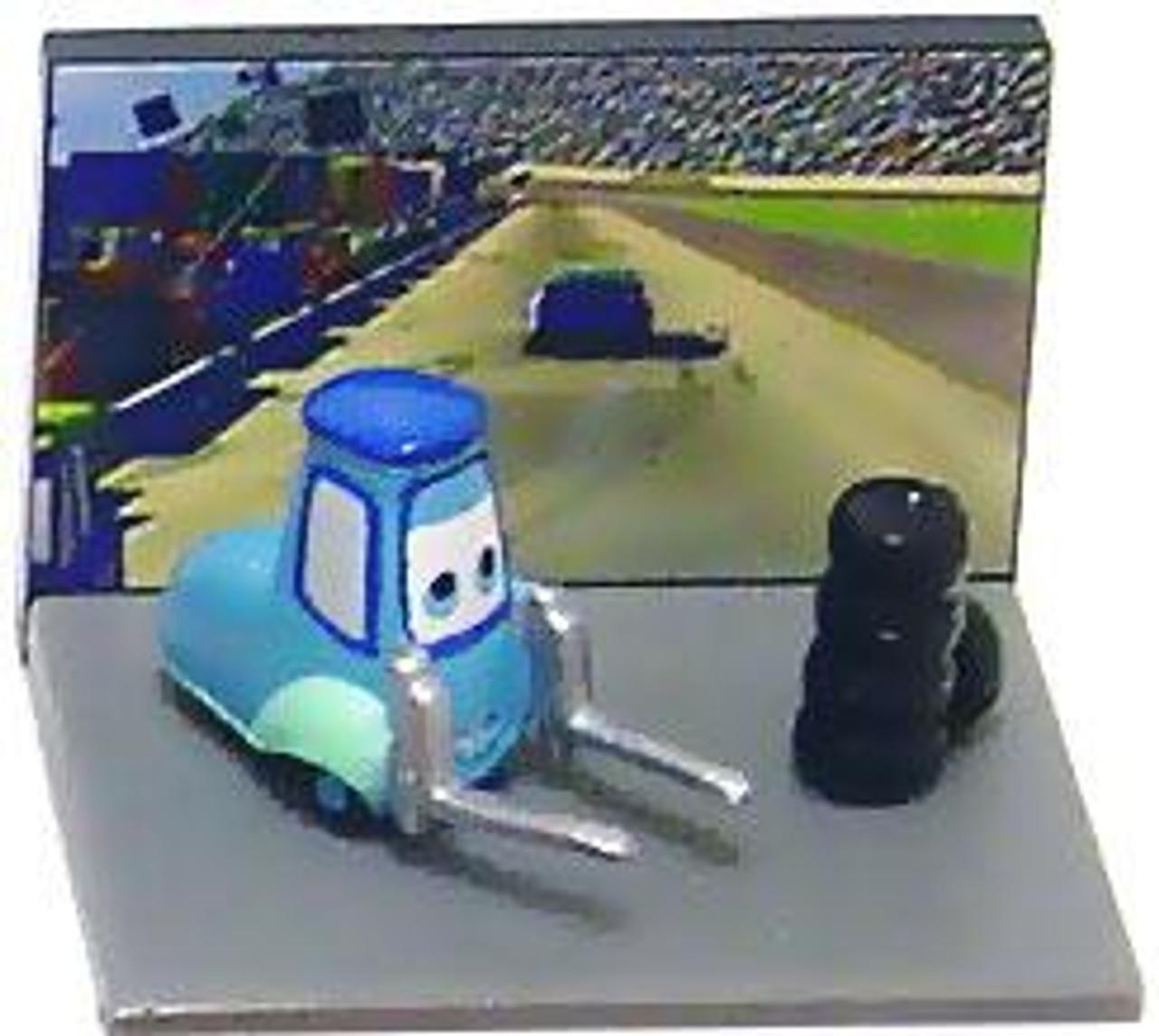 Disney Cars Gacha Micro Figures Guido PVC Figure