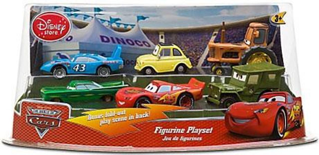 Disney Cars The World of Cars Cars Figurine Playset Exclusive PVC Figurine Set [Set #1]