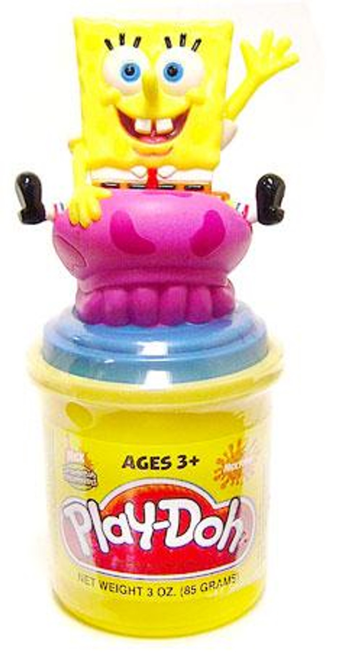 Play-Doh Spongebob Squarepants Spongebob Can-Topper Accessory