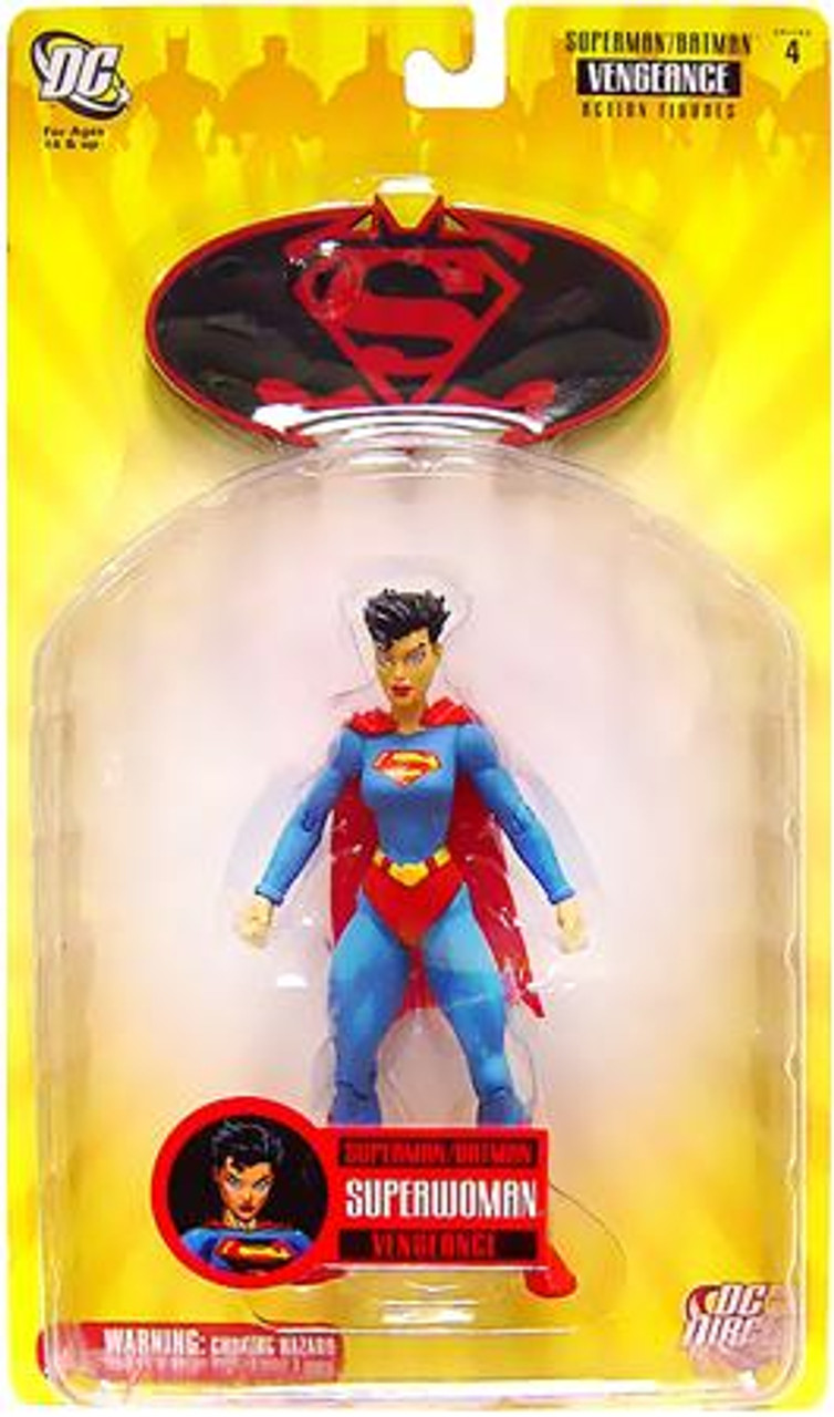 DC Supergirl Superman Batman Series 4 Vengeance Superwoman Action Figure