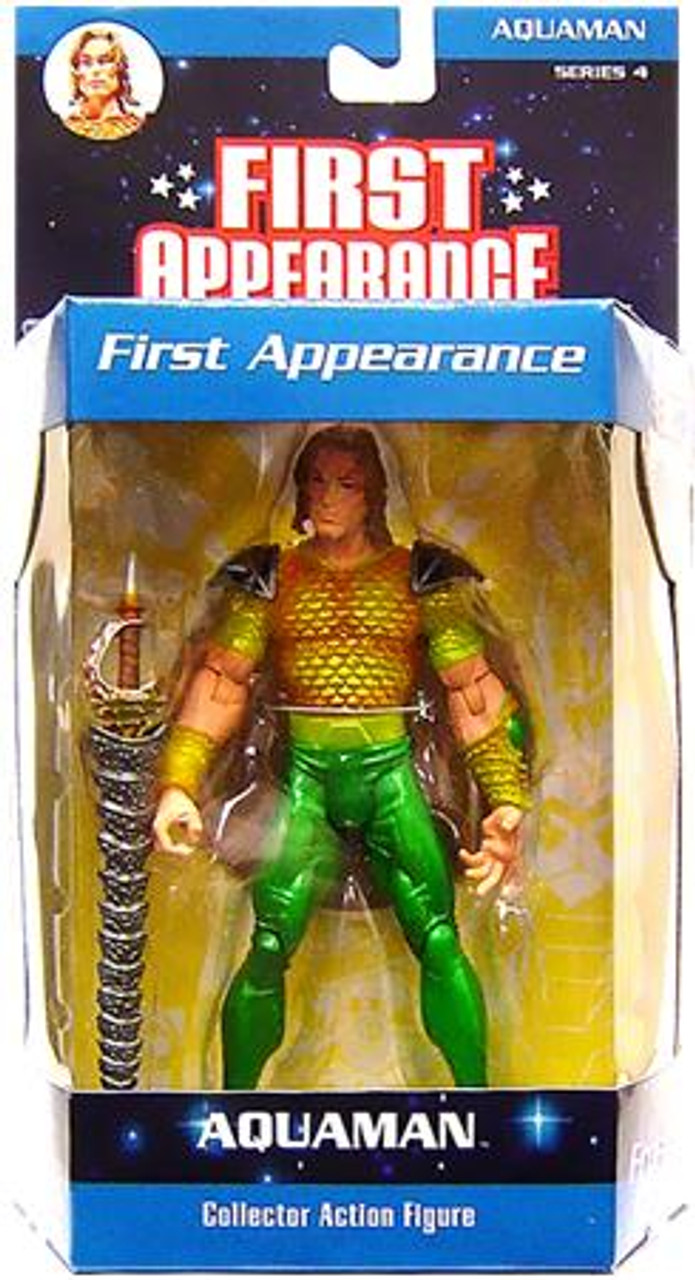 DC First Appearance Series 4 Aquaman Action Figure