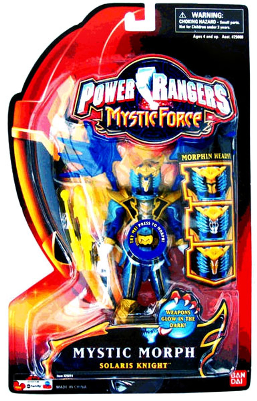 Power Rangers Mystic Force Mystic Morph Solaris Knight Action Figure