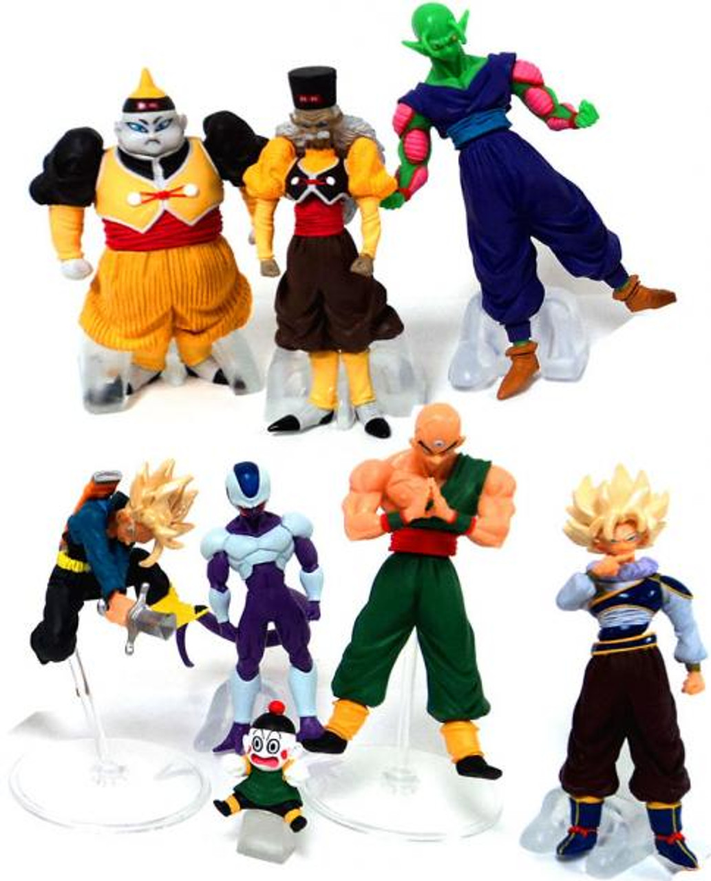 Dragon Ball Z Set of 7 Conflict 3.5-Inch Mini PVC Figures